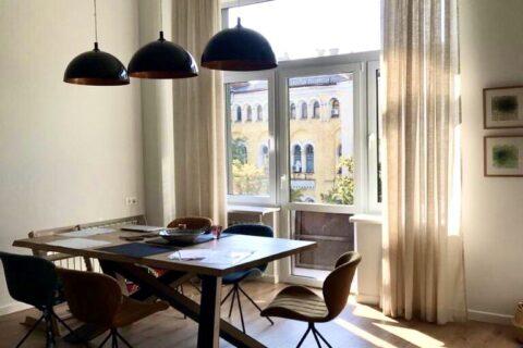 table near window