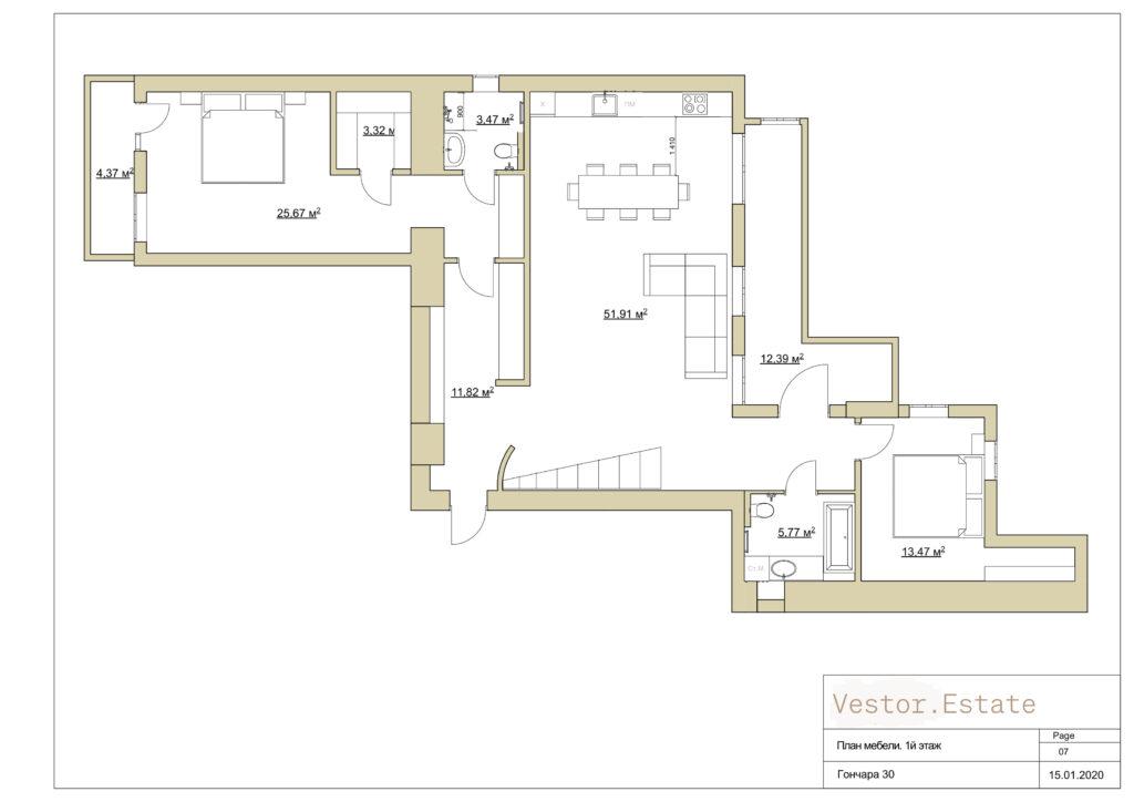 honchara 30a apartment plan