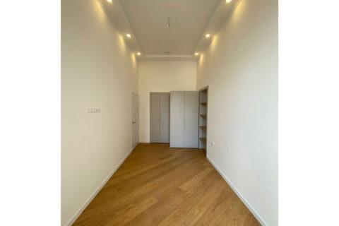 white room and wardrobe
