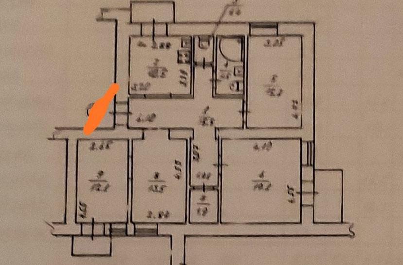 Pyrohova 2 apartments plan