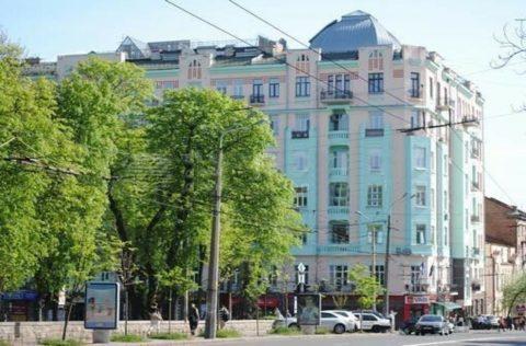 lva tolstoho building fasade