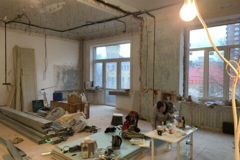 kotsyubinskoho 9 old renovation