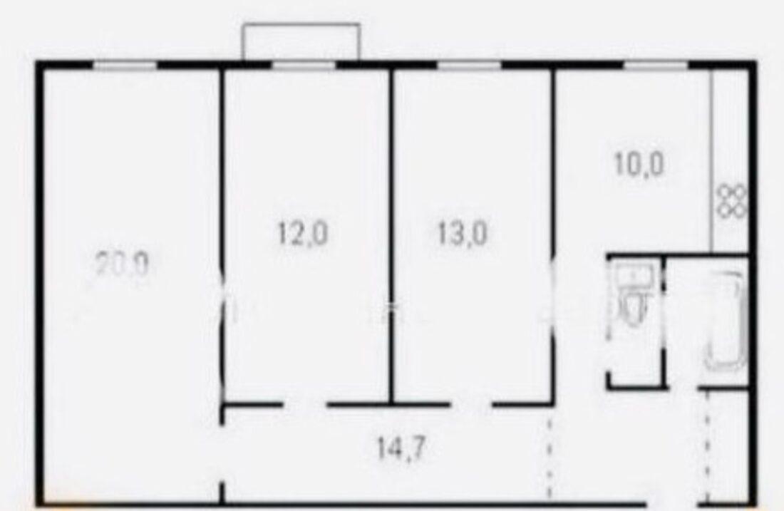 floor plan Velyka Zhytomyrska 34