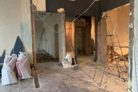 renovation process kotsyubinskoho 9