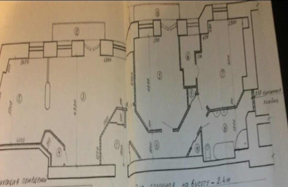 lva tolstoho 11/67 apartment plan
