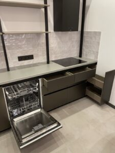 new kitchen with all appliance