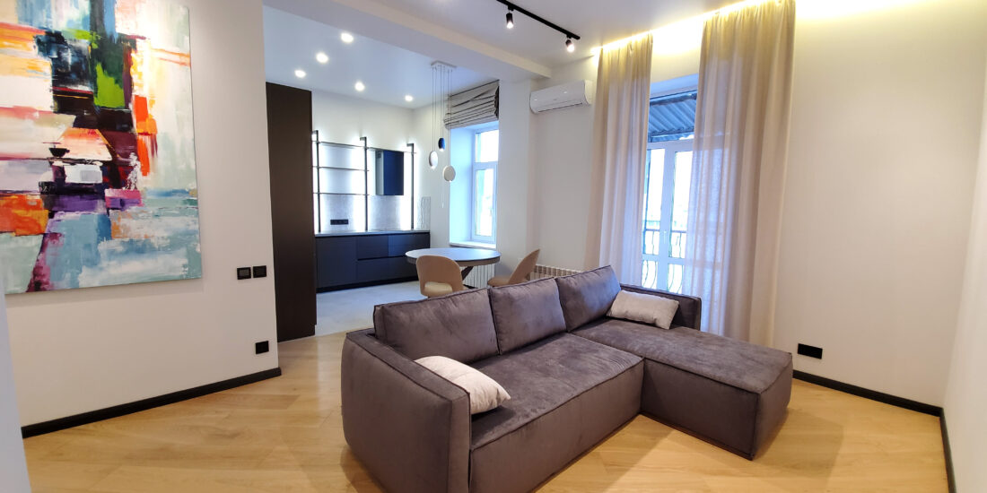 pictures in living room with sofa