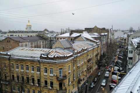 view to Sofia cathedral