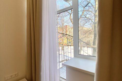 open balcony