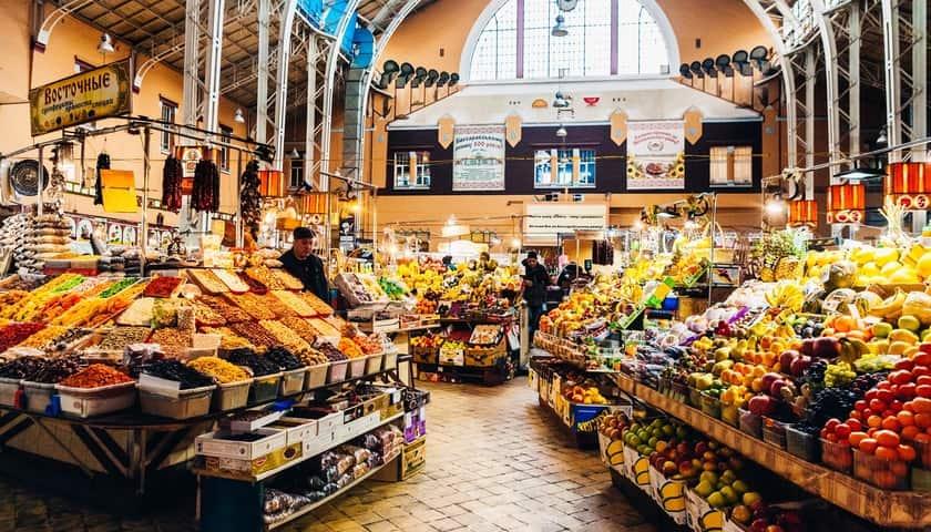 bessarabskiy bazaar inside
