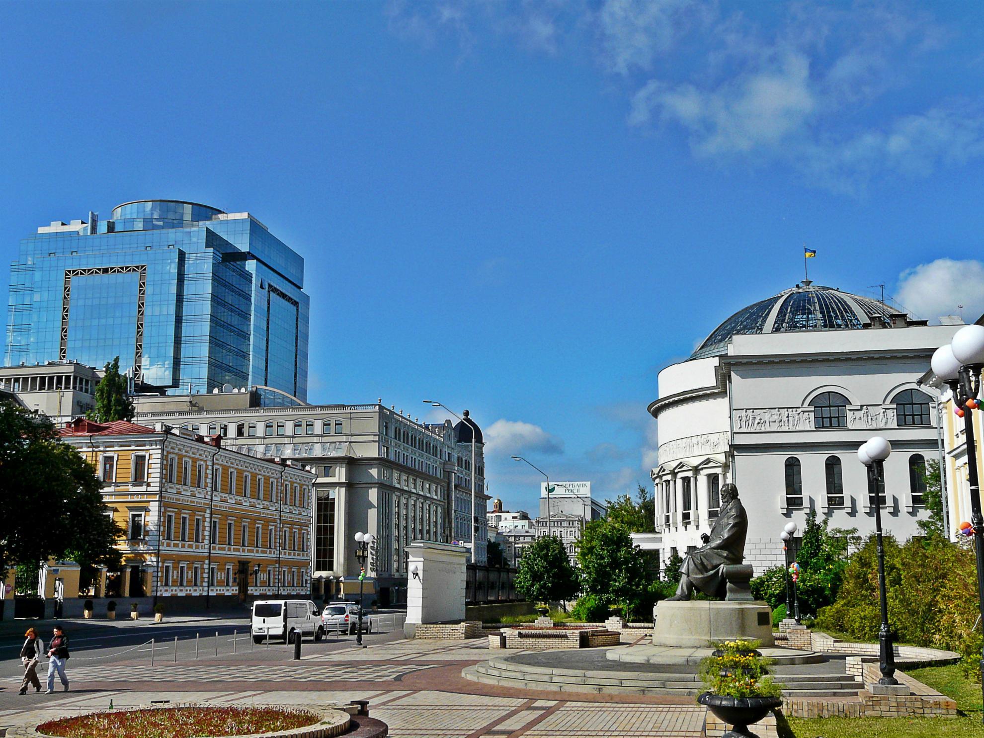 Volodymyrskaya street Kiev
