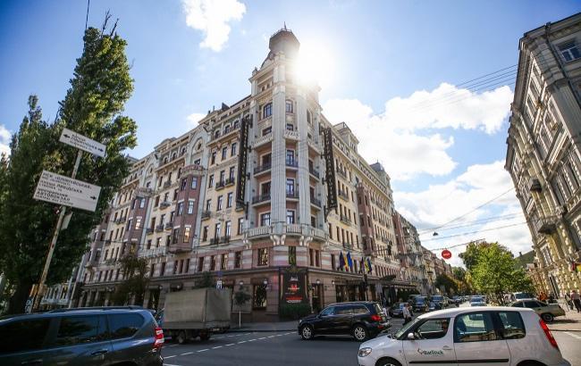 Pushkinskaya street kiev