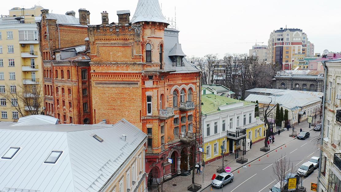 Yaroslaviv Val street kiev