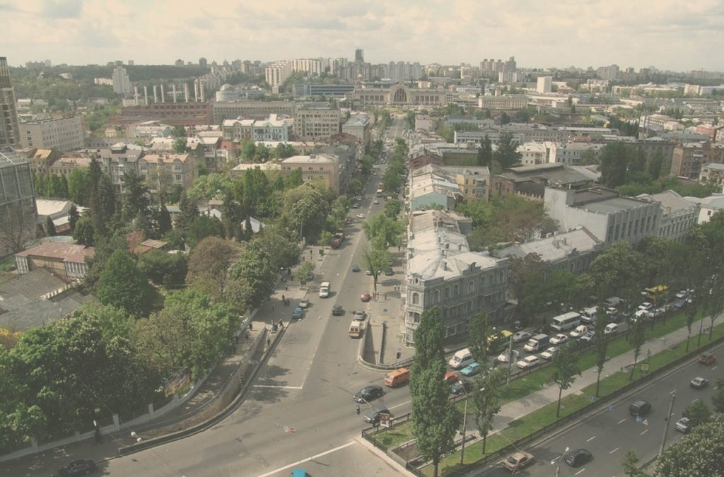 top 5 streets in kyiv
